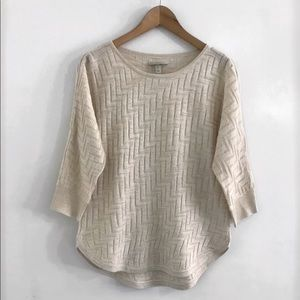Sweater knitted Top size M